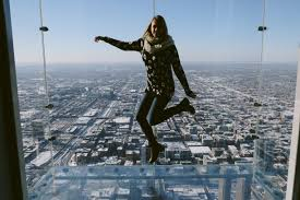 willis tower chicago skydeck chicago chicago illinois jumping above chicago 1 353