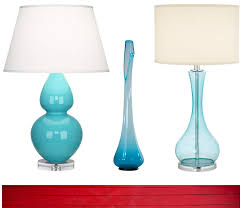 Blue Glass Table Lamp Lamp Finale Concepts And Colorways