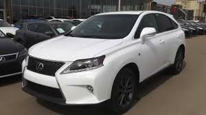 lexus suv inside 2015 lexus rx 350 awd f sport review youtube