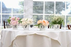 simple wedding ideas inspirational simple wedding centerpieces