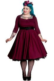 Size Pin Halloween Costumes Hell Bunny Momo Burgundy Dress Size Retro Rockabilly Swing