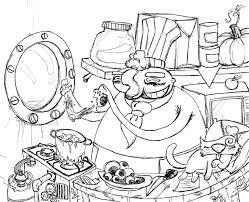 coloriage cuisine kofti com april 2007