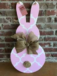Easter Bunny Outdoor Decorations by This Is For One Peep Bunny Shown Above These Are Cut From 1 2