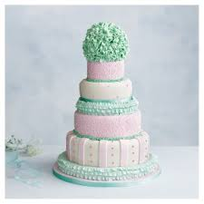 Tallulah 5 Tier Wedding Cake Fruit All Tiers Waitrose