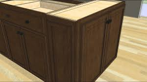 kitchen design tip u2013 designing an island with wall cabinet ends