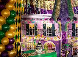 mardi gras decorating ideas city