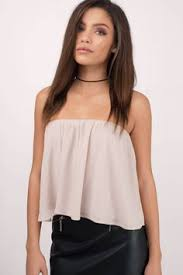 strapless blouse the honeybee flowy top layered necklaces my style