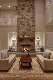 Stacked Stone Around Fireplace by Stone Fireplace Design Ideas Fireplace Ideas