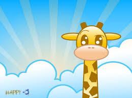 giraffe cartoon 7037312 clip art library