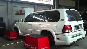 lexus lx470 diesel for sale supercharged v8 lx470 dyno run youtube