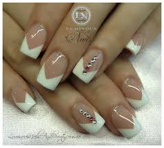 v nail art design beautify themselves with sweet nails