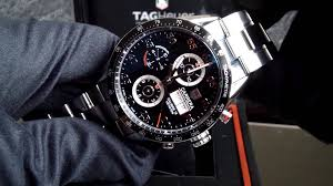 carrera watches tag heuer carrera chronograph day date youtube