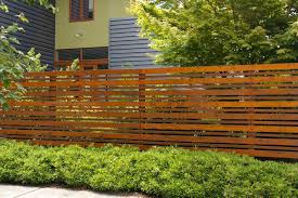 modern wood and wire fence home u0026 gardens geek