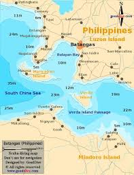 san francisco quezon map batangas philippines map of batangas designed and copyright by
