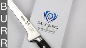 dalstrong gladiator german steel boning knife unbox youtube