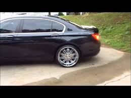 bmw staggered wheels and tires bmw 750 just got outfitted at rimtyme in jonesboro south side atl