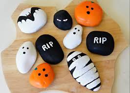 halloween party craft painting halloween rocks halloween crafts basteln zu