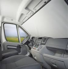 windscreen blind for the fiat ducato