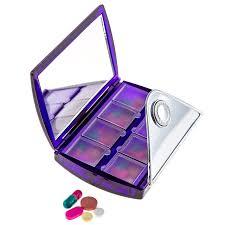 best organizer 1 best selling small pill box organizer with mirror decorative