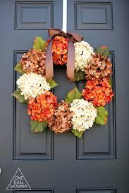 hydrangea wreath fall hydrangea wreath tutorial one momma