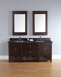 72 In Bathroom Vanity by 72 Inch Double Sink Bathroom Vanity With Wicker Baskets