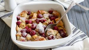 make ahead raspberry breakfast bake is perfect for lazy mornings