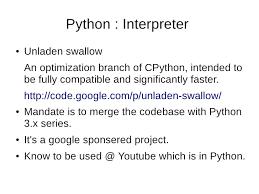 python performance 101