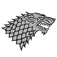 stark house wolf game of thrones by komankk on deviantart cake