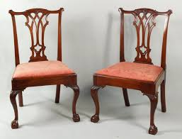 shield back dining room chairs important american furniture offered in schwenke auctioneers june