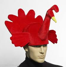 thanksgiving turkey hat plush turkey hat thanksgiving costume cap chef