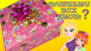 doc mcstuffins wrapping paper mystery box opening from mommyandgracieshow with doc mcstuffins