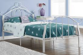 Antique White Metal Bed Frame Vintage Bed Frames Hton Vintage White Size Metal Bed Frame