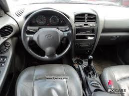 Hyundai Santa Fe 2004 Interior 2004 Hyundai Santa Fe Edition 2 4 D4 Full Leather 1 Hand