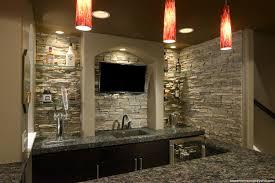 basement bar stone basement bars love faux stone on a basement bar classy