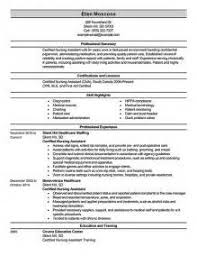 Resume For Cna Job by Cover Letter For A Cna Executive Summary Word Template Cna Cover