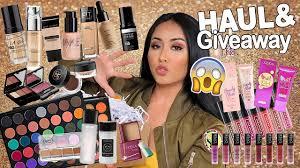 Eyeshadow Wardah Vs Makeover makeup haul 10k giveaway wardah makeover emina etc by chea nuh
