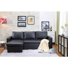 sofa bed storage the hom georgetown 2 piece white bi cast leather sectional sofa