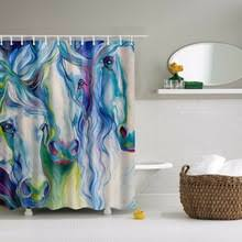 buy shower curtain horse and get free shipping on aliexpress com