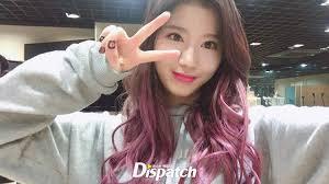 popular kpop hair colours spring hair trend alert twice sana s purple hair kpop korean