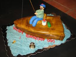 dad u0027s fishing boat cakes by dana