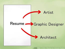 Turn Resume Into Cv How To Write A Resume As A Graduate Student With Pictures
