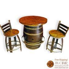 wine barrel bar table home furnishings