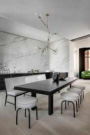 Marble Interior Walls 5 Ways To Mix Up Your Dining Chairs Live Stylish Daily Luxury