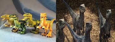 lego universal monsters velociraptor by monsterisland1969 on