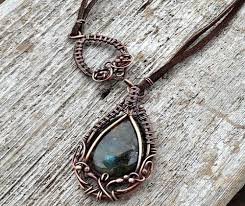 metal necklace designs images Leather jewelry making inspiration design ideas pairing leather jpg