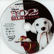 102 dalmatians 2000 ws r1 movie dvd cd label dvd cover