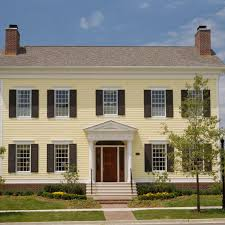 Dutch Colonial Revival House Plans by Get The Look Colonial Style Architecture Traditional Home