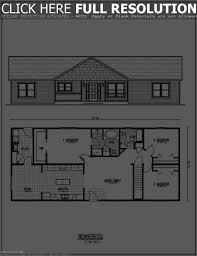 ranch house floor plans with walkout basement interior design for