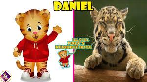 daniel tiger u0027s neighborhood characters in real life youtube