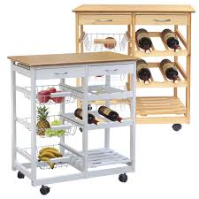Kitchen Island Ebay Chinkyboo 3 Tier Veg Trolley Kitchen Fruit U0026 Vegetable Rack Wheels